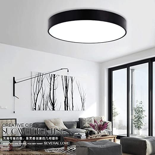 office ceiling lamps. 24W LED Round Ceiling Panel Down Light Ultra-slim Acrylic Lamp For Dining  Room, Office Ceiling Lamps Y