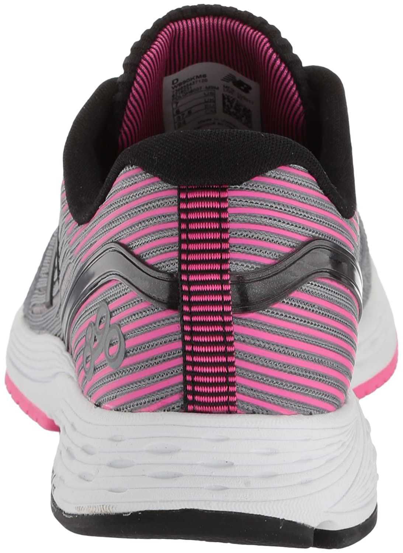 New Balance Women's 890v6 Running Shoe B06XSD38ZW 8.5 D US|Grey/Pink