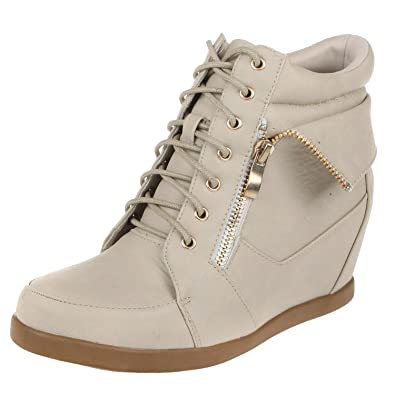 newest c1d18 89576 Amazon.com | TOP Moda Womens Peter-30 Lace Up High Top ...