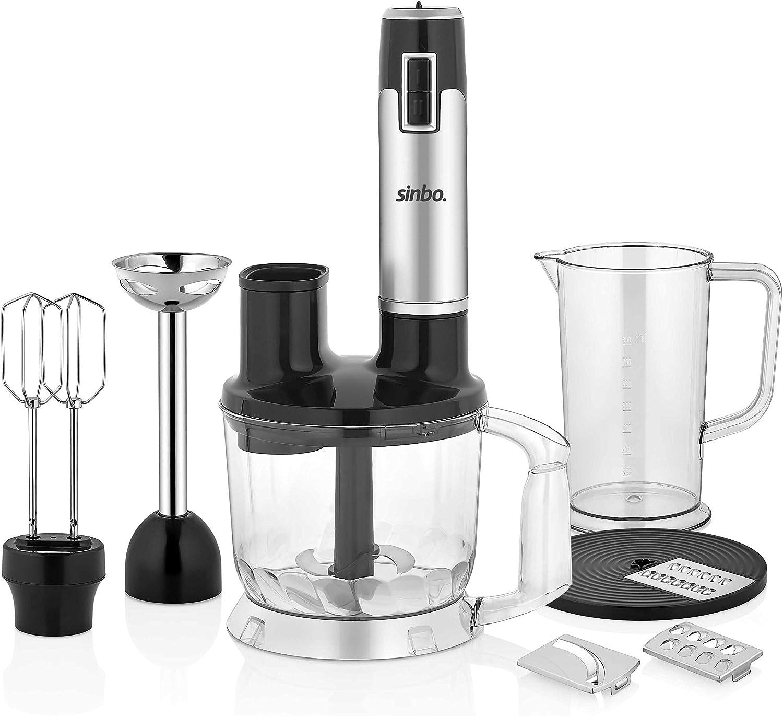 Sinbo SHB-3114 - Licuadora (1,5 L, 0,8 L, Batidora de vaso, Negro, Transparente, Acero inoxidable, Corriente alterna): Amazon.es: Hogar