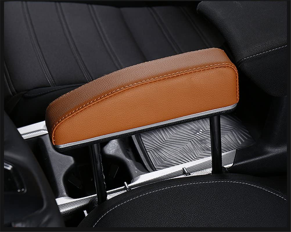 Car Armrest Pad with Card band Armrest Pad Fit Armrest Box Vehicle for Car Driver to Relieve Driving Fatigue,Black GFYWZ Central Elbow Support Rest Pad