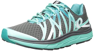 Pearl iZUMi Women's W Em Road N 3 Running Shoe, Shadow Grey/Aqua Mint