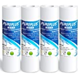 """PUREPLUS 5 Micron 10"""" x 2.5"""" Whole House Sediment Home Water Filter Cartridge Replacement for Any 10 inch RO Unit, Culligan P"""