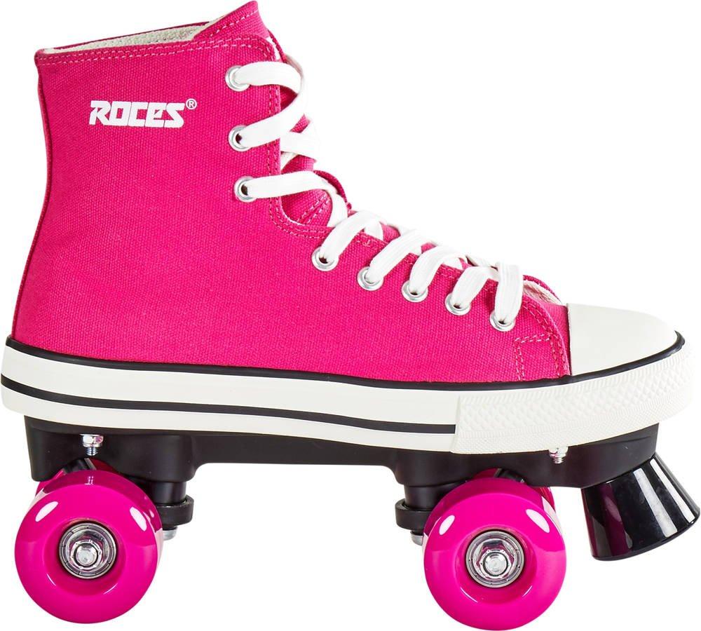 Roces 550030 Model Chuck Roller Skate,Deep Pink,9USW,7USM,40EU,6UK by Roces