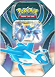 Pokemon 25811 Tin 52 Latios, Metallbox, blau