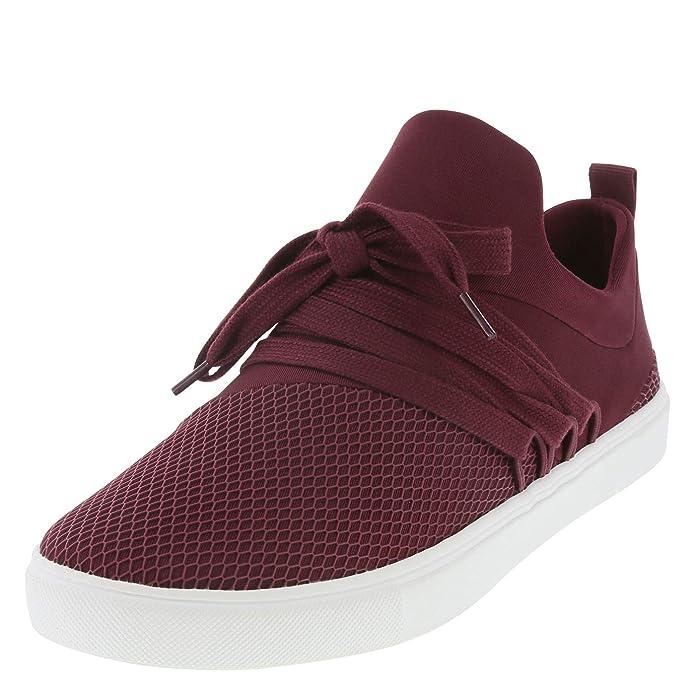 Brash Burgundy Women's Drea Lace-Up Sneaker 11 Regular