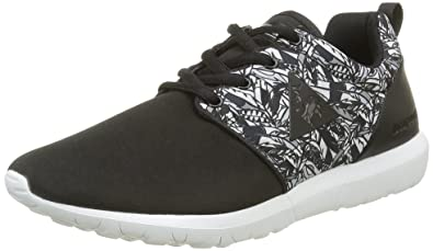 Le COQ Sportif Dynacomf Feathers, Zapatillas para Mujer, Negro (Blackblack), 39 EU