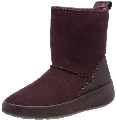 ECCO Damen Ukiuk Boot Schneestiefel: : Schuhe