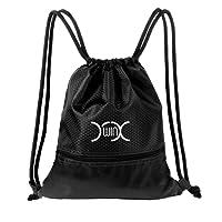 YXwin Sac à Dos Cordon Imperméable Sac de Gym Drawstring Bags pour Ecole Voyage Gym Natation Randonnée Sport