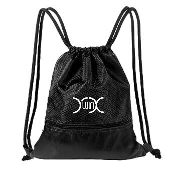 YXwin Cordón Mochila Bolsa Sackpack Impermeable Deporte Gimnasio Saco Bolsas de cuerdas Gymsack Backpack para Hombre y Mujer: Amazon.es: Deportes y aire ...