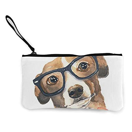 TTmom Carteras de Mujer,Monedero,Greyhound Dog Watercolor ...
