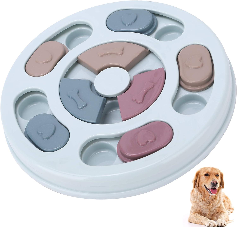KITTAIL Dog Puzzle Toys - Creative Dog Smart Beginner - Slow Feeder & IQ Interactive Training Toy Box, Advanced Treat Dispenser for Puppy Dogs Boredom, Non-Slip Bottom