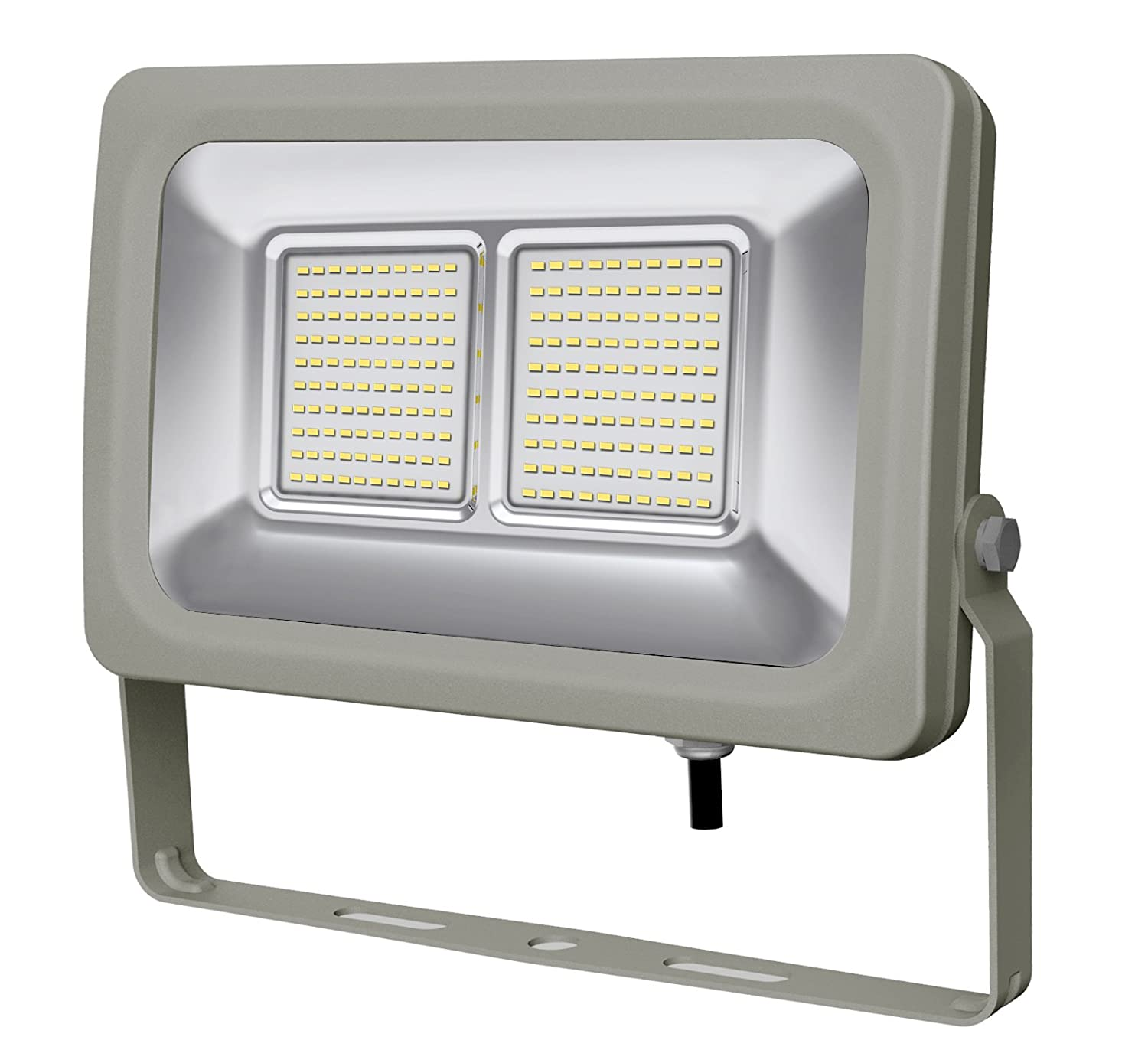 europalamp fl5208 Proyector LED Exterior o interior 100 W aluminio ...