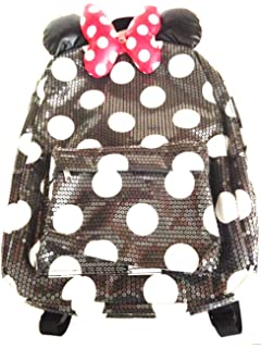 Womens Disney Pink Minnie Mouse Backpack Ladies (One Size - Pink ... b0181429bebb5