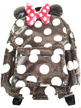 Disney Parks Minnie Mouse Sequin Backpack Adult Size NEW dfbc5705a4c31