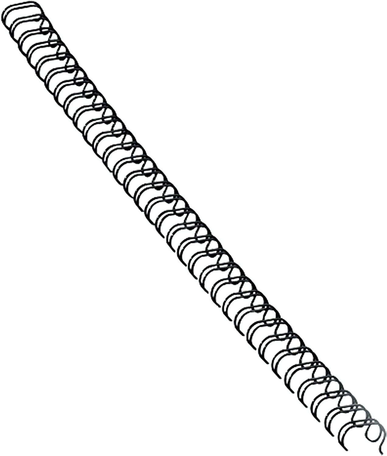 "Fellowes Wire Binding Spines, 9/16"", Holds 130 Sheets, Black, 25 Pack (5255601)"