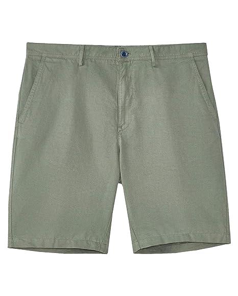 f73259791b MASSIMO DUTTI Men's Plain Linen Cotton Bermuda Shorts 2908/054 ...