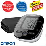 Omron Automatic Blood Pressure Mointor HEM-7270 With Omron AC-Adapter-S for Blood Pressure Monitor - 6 Volts (Health Care Combo Pack)