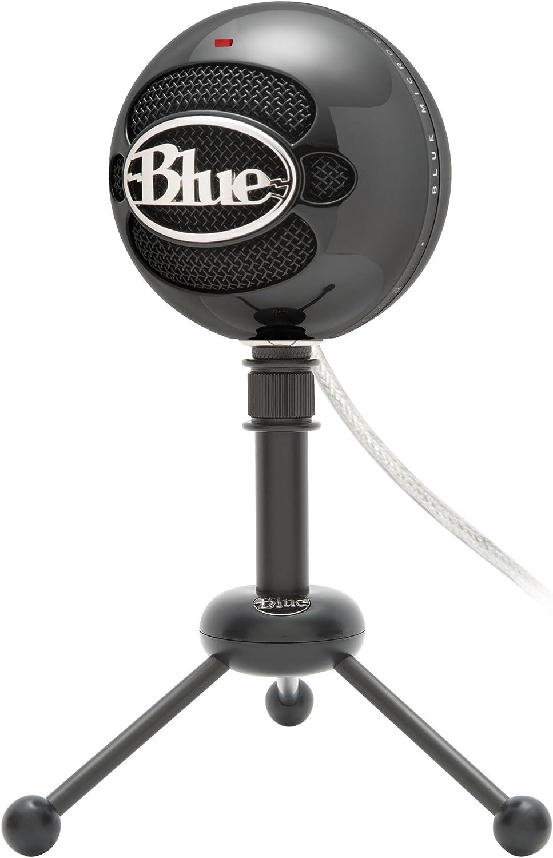 certifi/é reconditionn/é Bleu Snowball Micro USB Noir