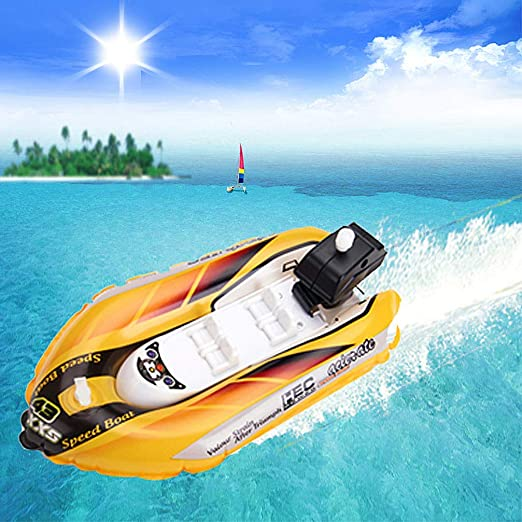 STOBOK 3pcs Bathtub Boat Toy Bath Toy Wind Up Yacht Speed Boat Swimming Pool Beach Tub Outdoor Water Toy for Kids