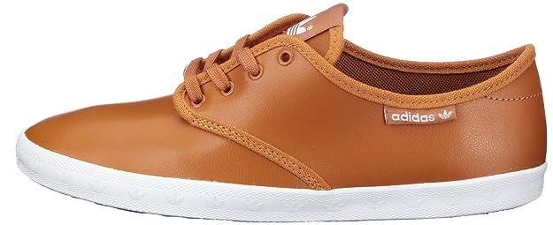 adidas Adria PS, Sneakers Basses femme - marron - Braun (Originals Spice F11/Originals Spice F11/White),