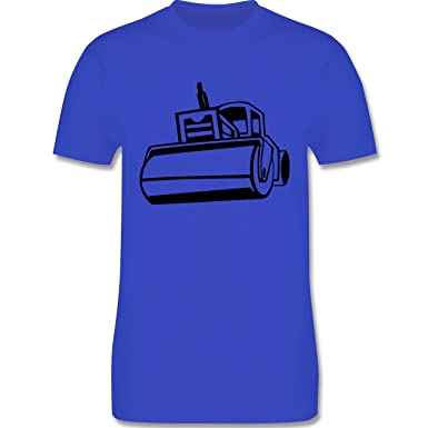 Andere Fahrzeuge - Dampfwalze - Herren T-Shirt Rundhals: Shirtracer:  Amazon.de: Bekleidung