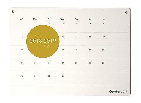 Amazon Com Executive S Monthly Desk Pad Calendar Gold Foil