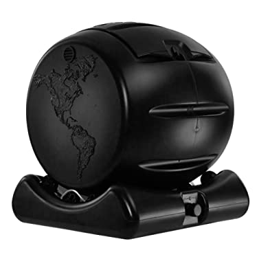 Envirocycle The Cutest Composter in The World, Made in The USA, Food Safe, BPA and Rust Free, No Assembly Required, Mini Composting Tumbler Bin and Compost Tea Maker
