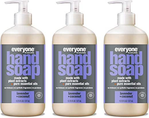 Everyone Hand Soap: Lavender and Coconut, 12.75 Ounce, 3 Count