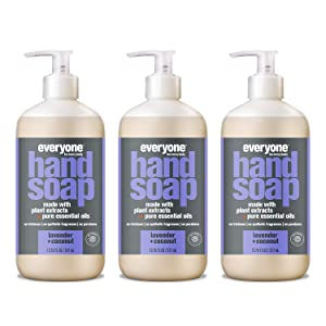 Everyone Hand Soap, Lavender + Coconut, 12.75 Ounces, 3 Count