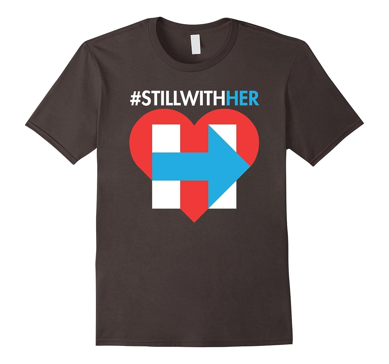 #stillwithher I'm Still With Her Hillary Heart T Shirt-CL