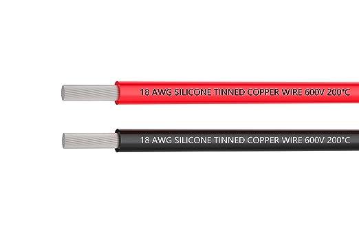TUOFENG 18 awg silikon kabel , Hochtemperaturbeständige Silikon ...