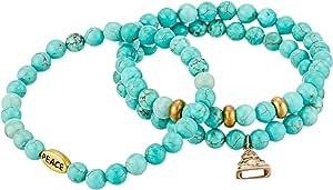 Dee Berkley Women S Understanding Bracelet Turquoise Bracelet Amazon Ca Jewelry