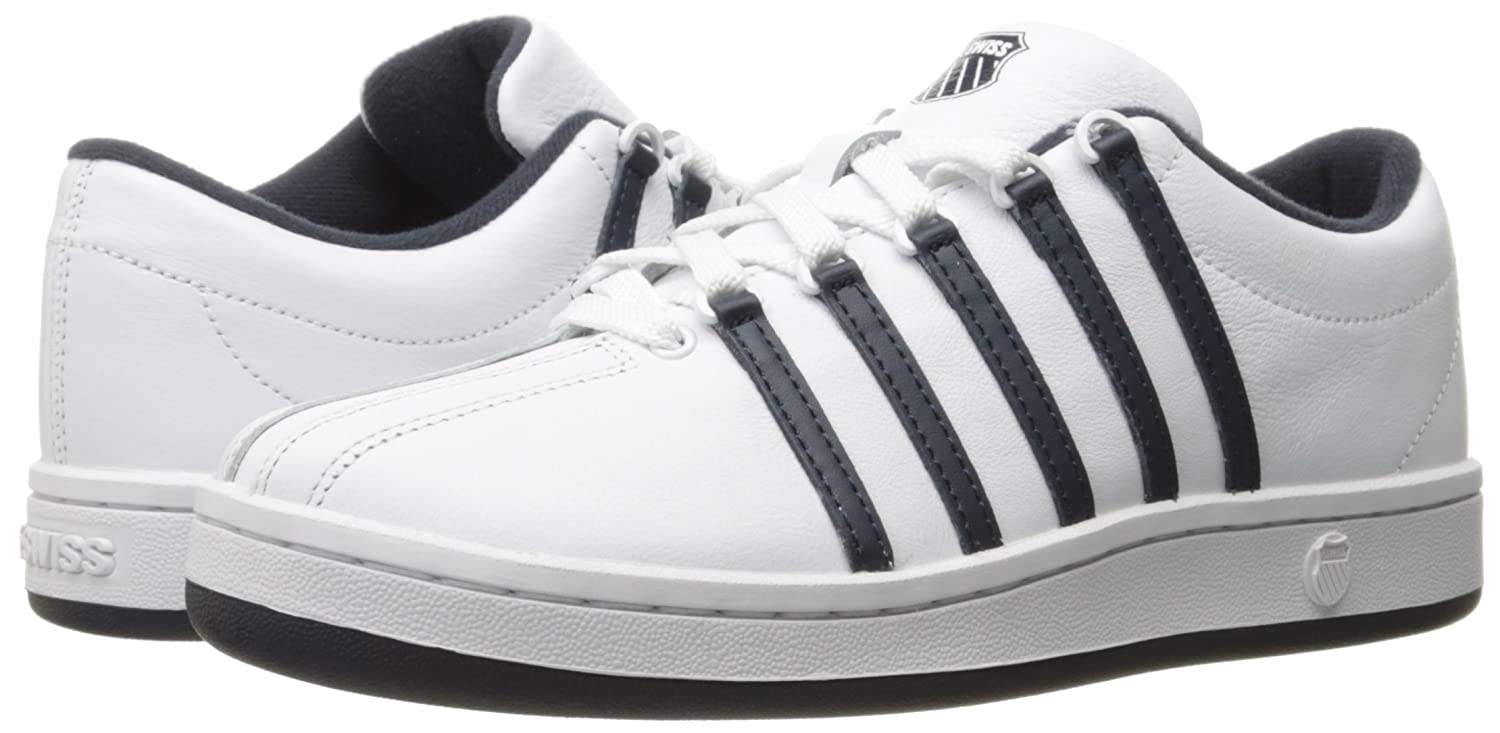 K-Swiss Women's B01K89B9L6 Classic '88 Fashion Sneaker B01K89B9L6 Women's 7 B(M) US|White/Blue Nights/Silver fc343b