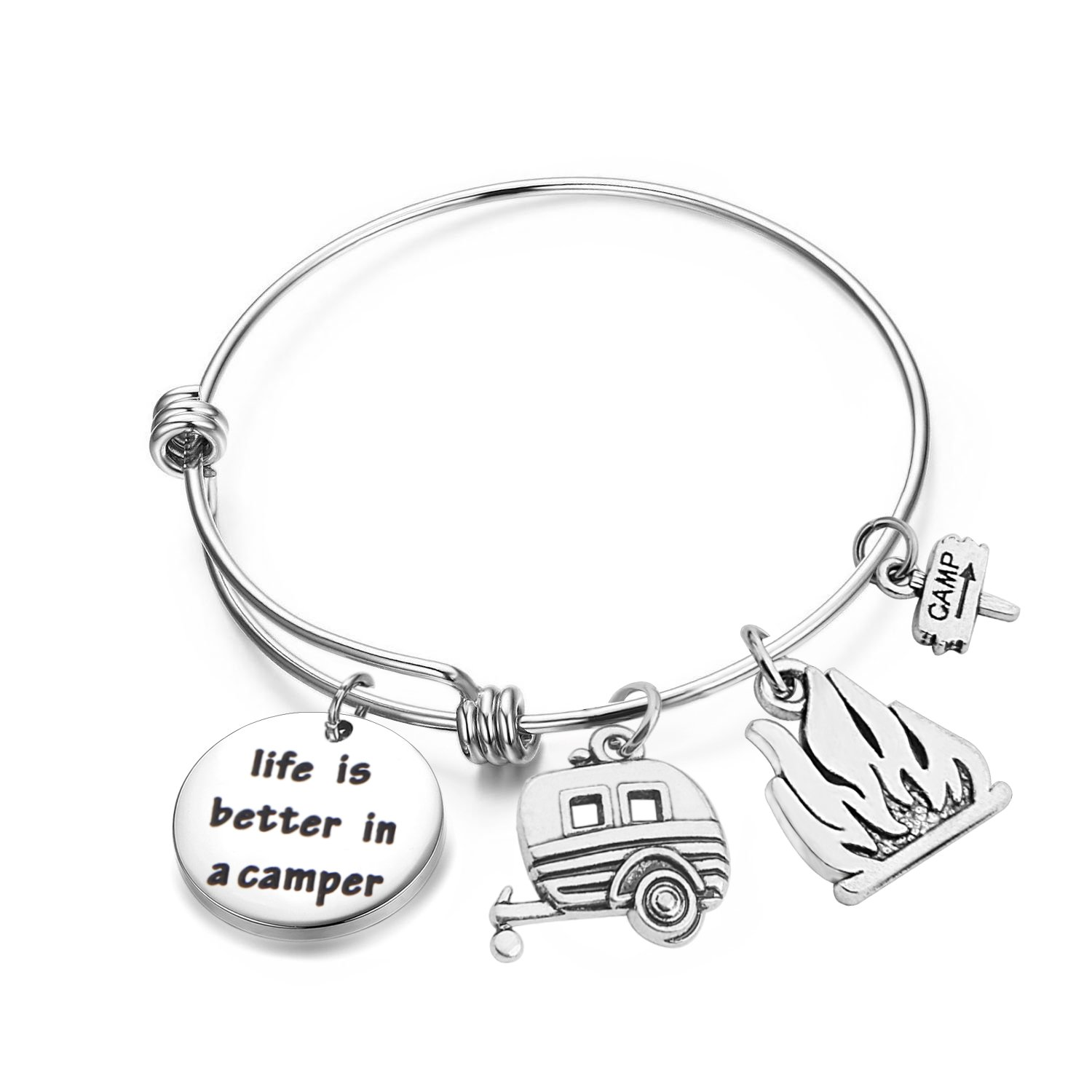 Camper Bracelet Life is Better in a Camper Retirement Bracelet (Camper bracelet)