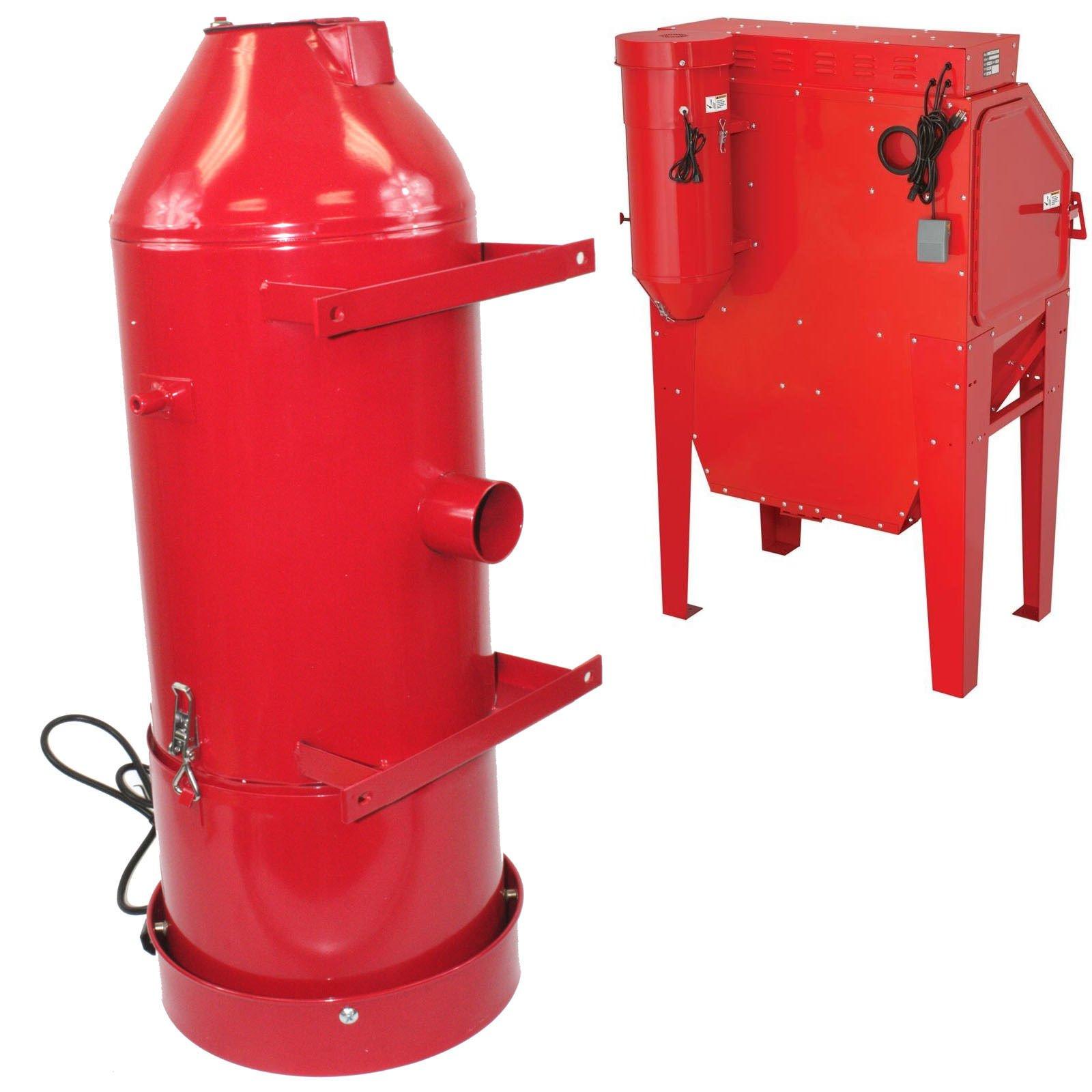 Air Filter Vacuum Cleaner & Sand Blast Dust Collector 90CFM For Industrial Cabinet Sandblaster 110V - Skroutz