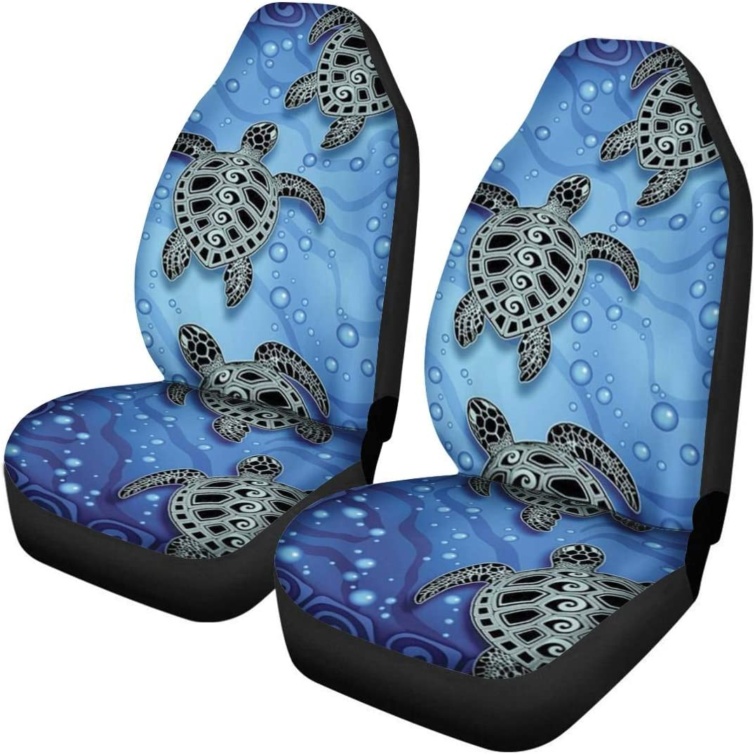 Aoopistc 2piece Set Front Car Seat Cover Universal More Cars Truck /& Vehicle Stretch Buckt Cushion Cover Ultra-Soft Fabric Vehicle Seats Covers Sedan,SUV,Van Washable Cute Sloth Pattern