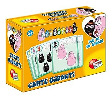 Liscianigiochi 35977 - Juego de Cartas Gigantes, diseño de ...