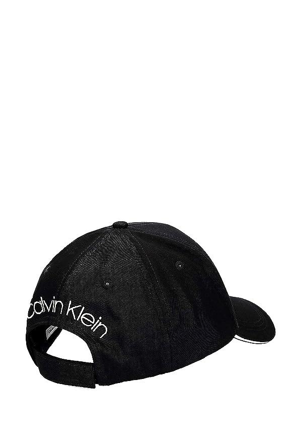 Calvin Klein Contrats Edge Cap, Gorra de béisbol para Hombre, Negro (Black 001), única (Talla del Fabricante: OS): Amazon.es: Ropa y accesorios