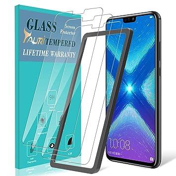 TAURI Protector de Pantalla para Huawei Honor 8X [3 Piezas ...