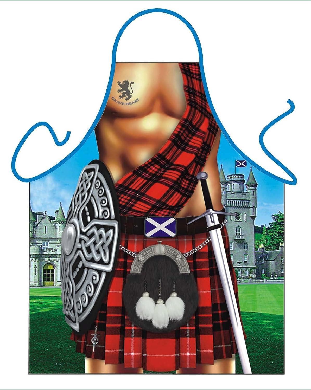Scotland Kilt Apron With Sporran Design Amazoncouk Kitchen  Home - Kitchen design scotland