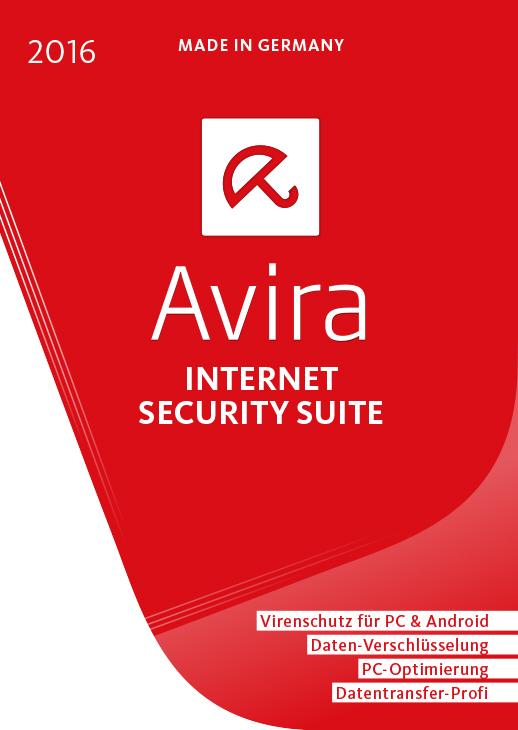 Avira Internet Security Suite - 1 Gerät / 1 Jahr [Online Code]