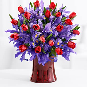 Amazon Proflowers Multi Colored Deluxe Hugs And Kisses W