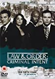 Law & Order: Criminal Intent - Season 5 [6 DVDs] [UK Import]