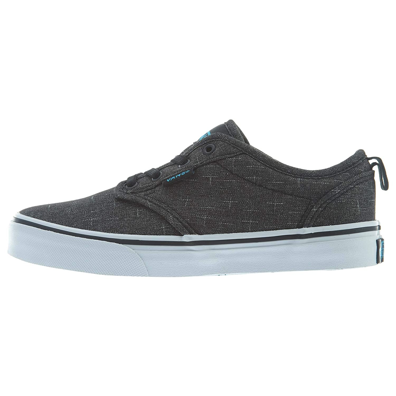 Vans Atwood Slip-On (Textile) Little Kids Style: VN0004LM-FN8 Size: 10.5  Black/Hawaiian Ocean