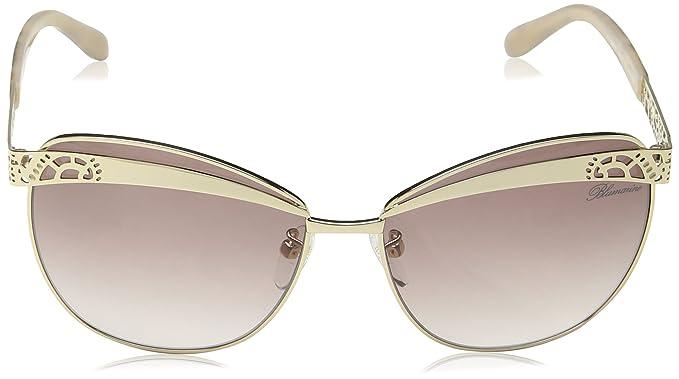 BlueMarine Damen Sonnenbrille Sbm086, Braun (Shiny Rose Gold), Einheitsgröße
