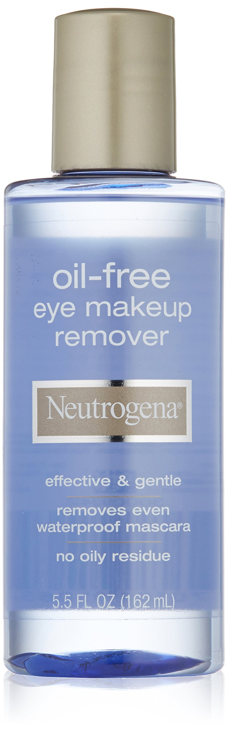 Neutrogena Gentle Oil-Free Eye Makeup Remover & Cleanser for Sensitive Eyes, Non-Greasy Makeup Remover, Removes Waterproof Mascara, Dermatologist & Ophthalmologist Tested, 5.5 fl. oz ( Pack of 3)