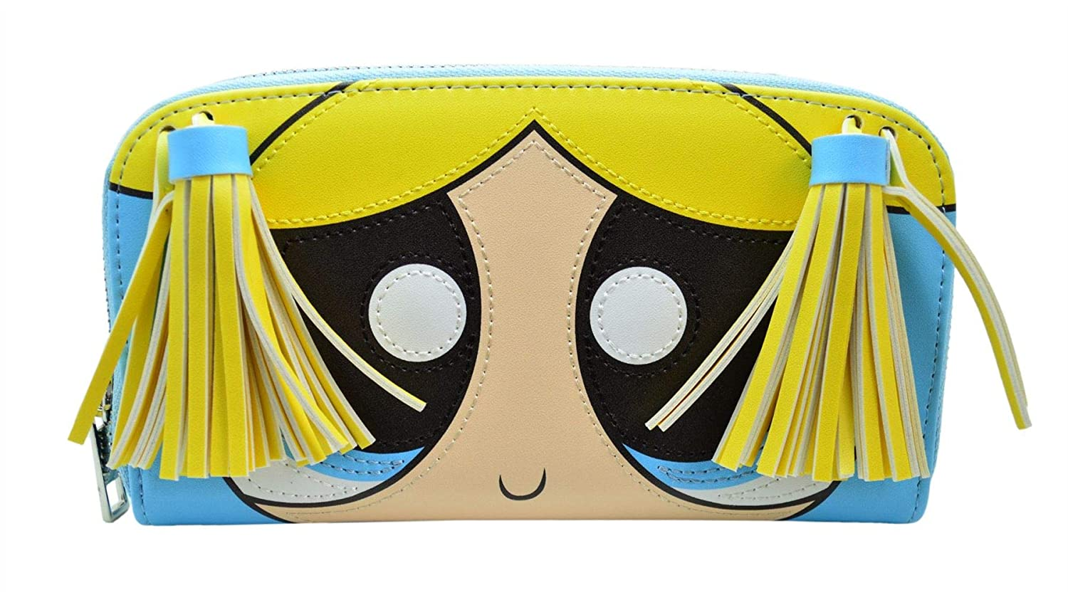 Officiel The Powerpuff Girls Purse Porte-monnaie Portefeuille- Bubbles