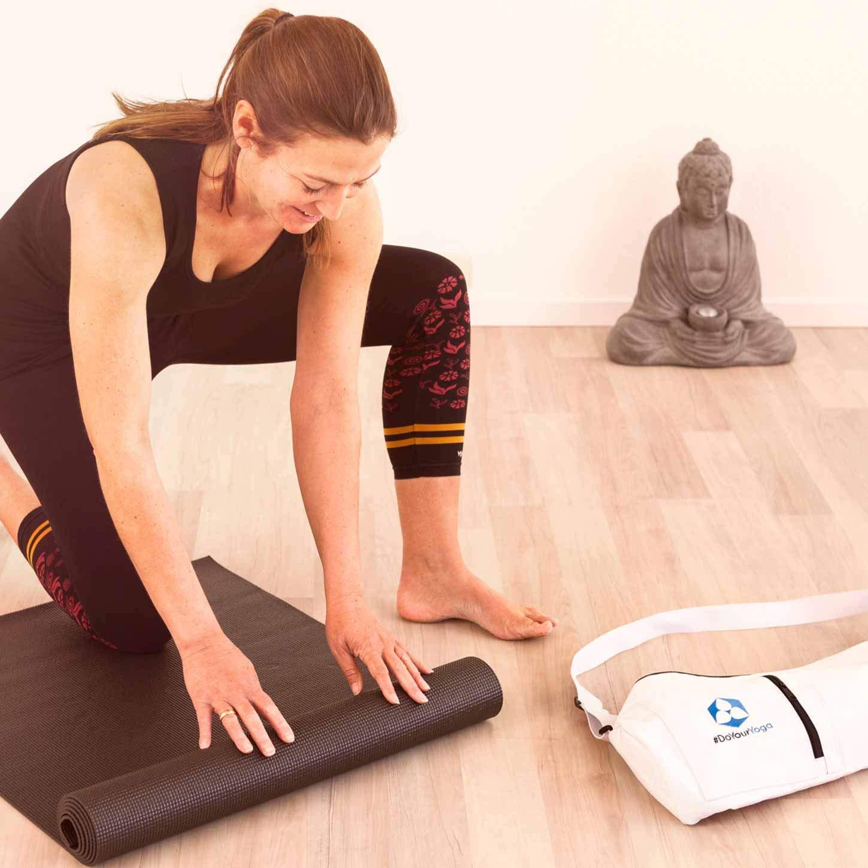Fitness etc. sehr Rutschfest aus ECO-PVC hergestellt Gymnastik #DoYourYoga Yogamatte mit Memory-Schaumstoff die ideale Unterlage f/ür Yoga Sp/üre den Unterschied /»Kirana/« Ma/ße: 183x61x0,4 cm
