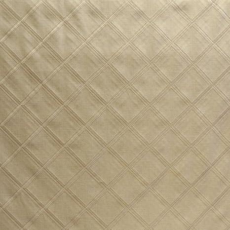 Amazon Com Englewood Oatmeal 54 Width Diamond Drapery Fabric